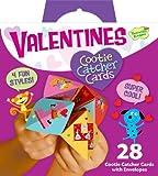 Peaceable Kingdom Valentine Cootie Catcher Super Valentine Card Pack