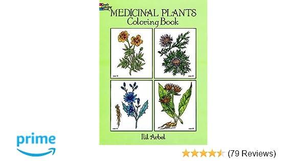 Medicinal Plants Coloring Book Dover Nature Coloring Book Ilil