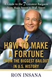 img - for How to Make a Fortune from the Biggest Bailout in U.S. History: A Guide to the 7 Greatest Bargains from Main Street to WallStreet book / textbook / text book