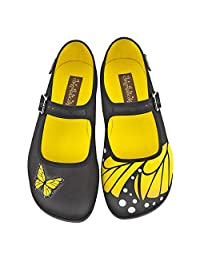 Hot Chocolate Design Chocolaticas Butterfly Women's Mary Jane Flat