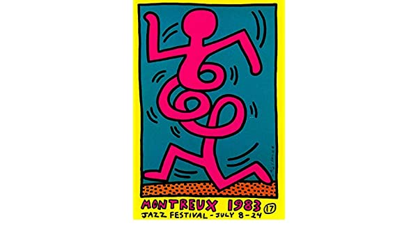 baodanla Sin Marco Keith Haring Pop Art ng Montreux Classic ...