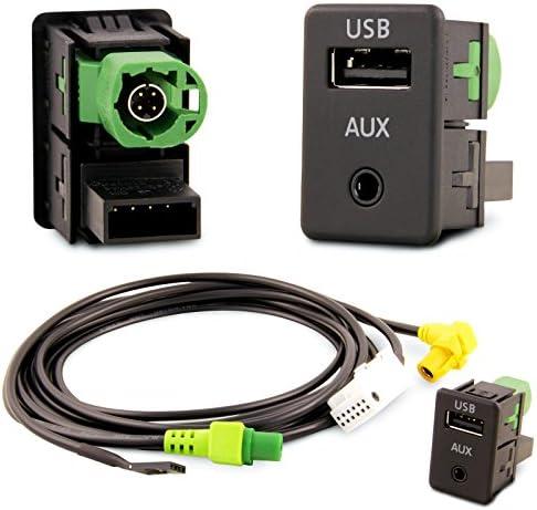 Usb Aux Einbau Block Schalter Adapter Rcd Rns Radio S Rns Rcd 300 310 315 510 Auto