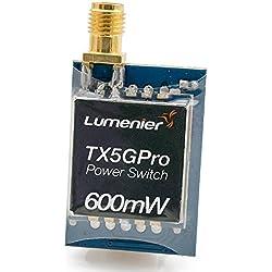 Lumenier TX5GPro-600 Mini 600mW 5.8GHz FPV Transmitter with Power Supply