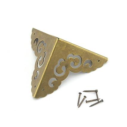 Chino muebles antiguos accesorios de cobre para armario de ...