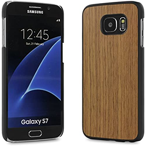 Cover-Up #WoodBack Real Wood Snap Case for Samsung Galaxy S7 - Walnut Sales