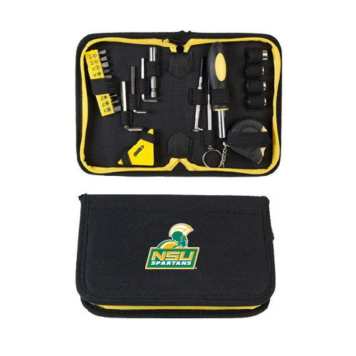 CollegeFanGear Norfolk State Compact 23 Piece Tool Set 'Official Logo' by CollegeFanGear