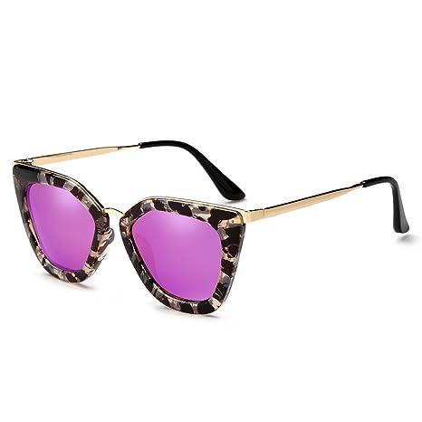 LXKMTYJ Color personalizado, gafas de sol polarizadas cara ...
