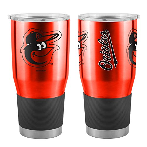 MLB Baltimore Orioles Boelter 30 oz. Ultra Tumbler MLB Baltimore Orioles, Black, Small (Orioles Mug Baltimore)
