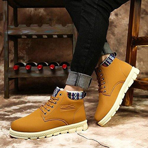 CN44 dimensioni Alto calzature Warm Ispessimento Impermeabile Scarpe sportive uomo da UK9 Keep Martin Le 02 03 3 EU43 Aiuto Colore Boots Inverno FEIFEI colori BHfwHq