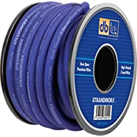 Strandworx SXPW0BL50 0-Gauge/50-Feet Strandworx Soft Touch Power Wire (Blue)