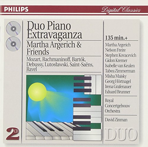 (Martha Argerich and friends: Duo Piano Extravaganza (2)