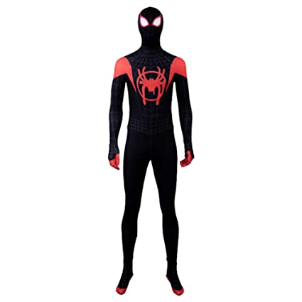 QXMEI Halloween Spider-Man Little Black Spider Traje Negro ...