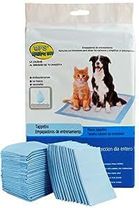 BPS® Empapadores de Entrenamiento para Perros Gatos Perfumes con Feromonas para Atraer los Cachorros y Simplificar el Entrenamiento Producto Mascotas(10pcs 60 * 60 cm) BPS-2166