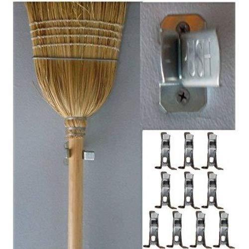 10 Bulldog Metal Spring Grip Clamps, Tool - Garden Organizer Hanging Tool