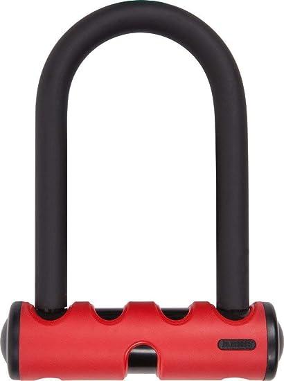 ABUS U-Lock U-mini 40 Red 5.5 inch U 15mm round shackle