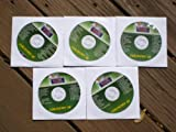 Music Maestro COUNTRY CLUB PACK Vol 3 CDG Karaoke 5 Disk Set