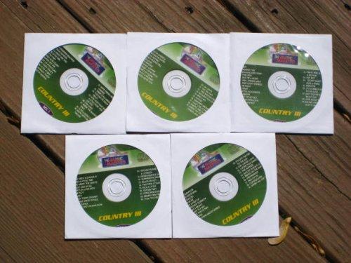 Music Maestro COUNTRY CLUB PACK Vol 3 CDG Karaoke 5 Disk Set