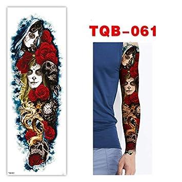 Full Sleeve Arm Temporary Tattoo Oriental Amazoncom
