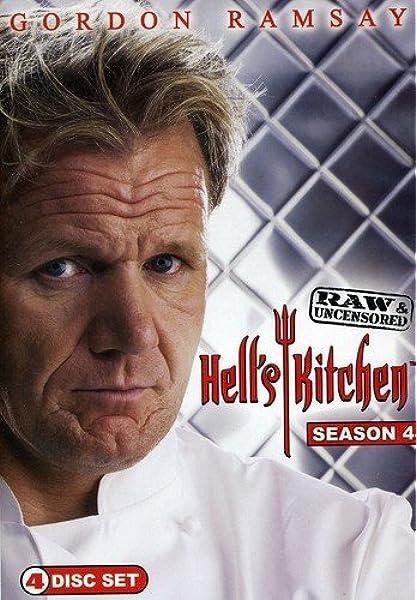 Amazon Com Hell S Kitchen Season 4 Raw Uncensored 4 Disc Gordon Ramsay Movies Tv