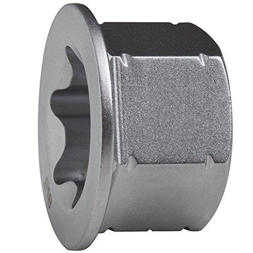 Bahco 1RMA-19-E16-TX 6-kant-Adapter f/ür Knarren-Ringschl/üssel 19mm E16