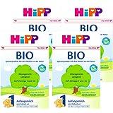 (跨境自营)(包税) Hipp喜宝 有机奶粉1段3-6个月4盒装(4 * 600g)