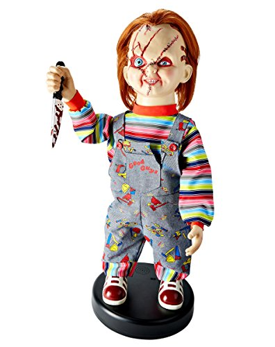2 Ft Bump 'N Go Chucky Animatronics – Decorations ()