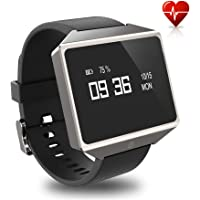 GFiD Smart Watch with ECG PPG for Men Women,Health Fitness Heart Rate Monitor Blood Pressure and Sleeping Monitor Compatible with iOS Android, Waterproof Graphene Screen, Calorie Step Counter