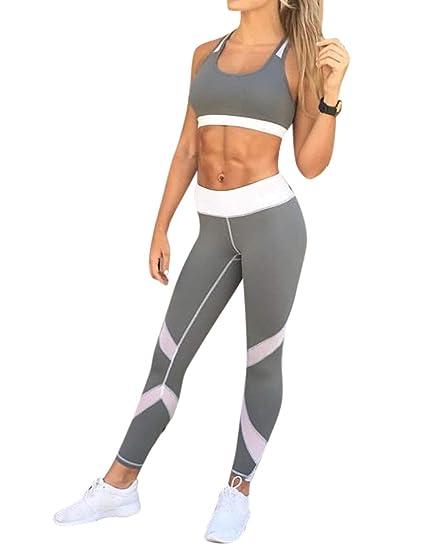 21b4925f25f Leoie Plus Size Yoga Lifting Leggings Pants for Women Sexy Slim Breathable  Quick-Dry Sports