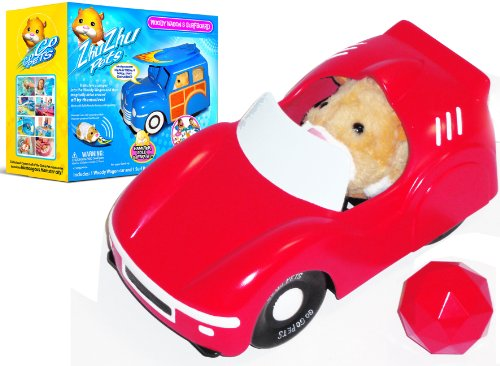 Giochi Preziosi 2819 Zhu Zhu Hamster Convertible Sports Car and Ball by Zhu Zhu Pets