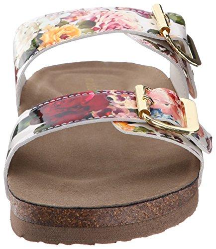 887865298632 - Madden Girl Women's Brando Flip Flop, White/Multi, 7.5 M US carousel main 3