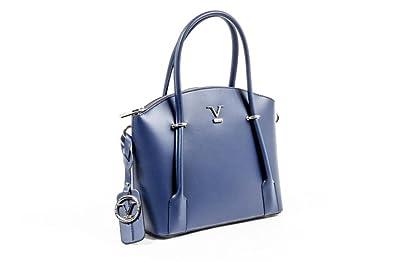 9d9e1140d1 Versace 19.69 Abbigliamento Sportivo Srl Milano Italia Womens Handbag V003  S BLUE JEANS