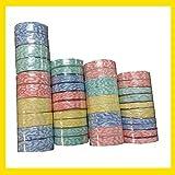 Nopea Komprimiert Handtuch Waschlappen Bunt Komprimiert Handtücher Tragbar Einweg Tücher Faserstoff Reise Sport Handtuch 10 Stück