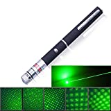 High Power 10mW Pointer Presentation Pen Visible Beam Office, Classroom, Home, FREE Removable Kaleidoscope Lens