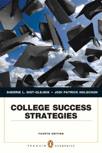 College Success Strategies Plus NEW MyStudentSuccessLab 2012 Update -- Access Card Package (4th Edition) (Penguin Academ