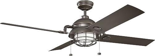 Kichler 310136OZ Ceiling Fan with Light