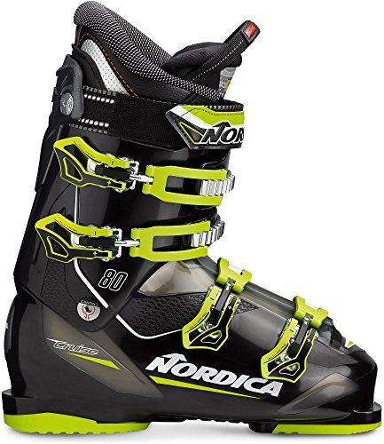 Nordica Cruise 80 Ski Boot 16/17 - Black/Lime 295