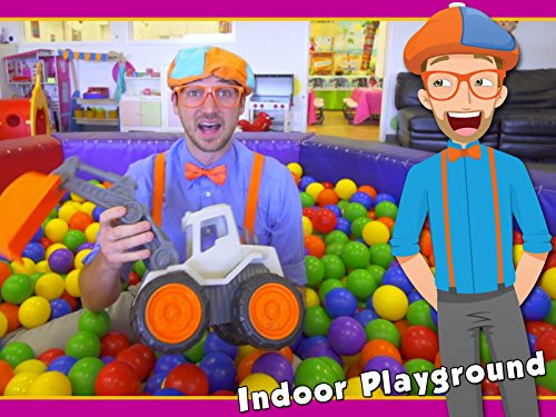 Halloween Movement Songs For Kids (Educational Blippi Videos for Children - Learning Movement Verbs for)