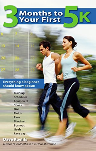 3 Months to Your First 5k: Everything a Beginner Should Know About Training, Schedules, Equipment, Shoes, Diet, Fluids, Pace, Mind-set, Burnout, Goals and Race Day