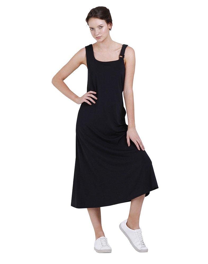 WEST 56 Women's Caryn Dress (STYLE# FSS16D03) Small Black