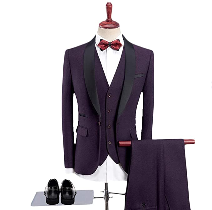 Fashionmy Mens Suits Wedding Dresses Prom Evening Suit ...