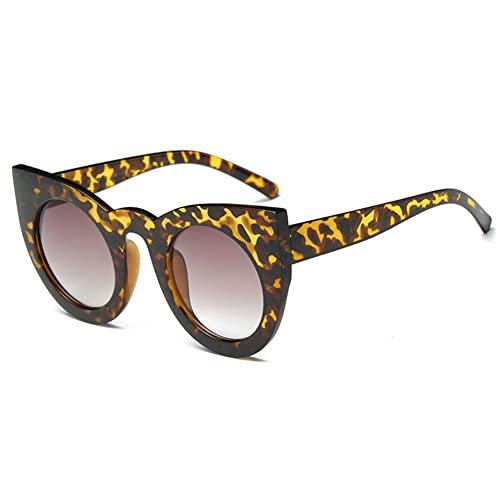 MEIHAOWEI Vintage Occhio di gatto Occhiali da sole Retro Anti UV Gradient Lens
