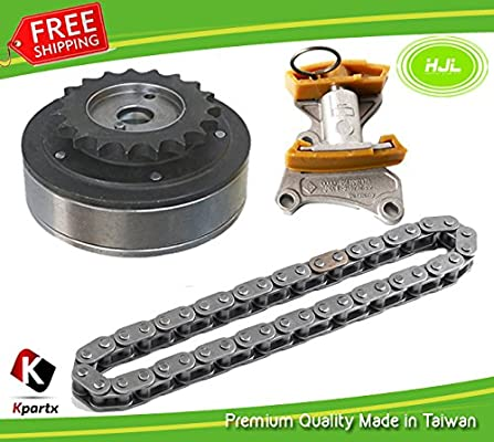 Amazon.com: Camshaft Adjuster+Timing Chain+Tensioner Kit For VW Eos Jetta Passat Audi A3 A4 2.0L: Automotive