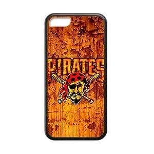 MMZ DIY PHONE CASEPittsburgh Pirates - stitch design Custom Cases for iphone 6 plus 5.5 inch