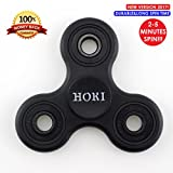 Fidget Spinners Help to Relieve Stress, Premium Fidget Toys with High Speed Bearing for Kids & Adults, Stress Reliever to Focus, ADHD Anxiety Stress Reducer(black-blue)