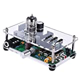 ammoon Bravo Audio V3 6922EH Tube Headphone Amplifier Amp 3 Band EQ Equalizer with Stereo RCA/ 3.5mm/ 6.35mm Jacks
