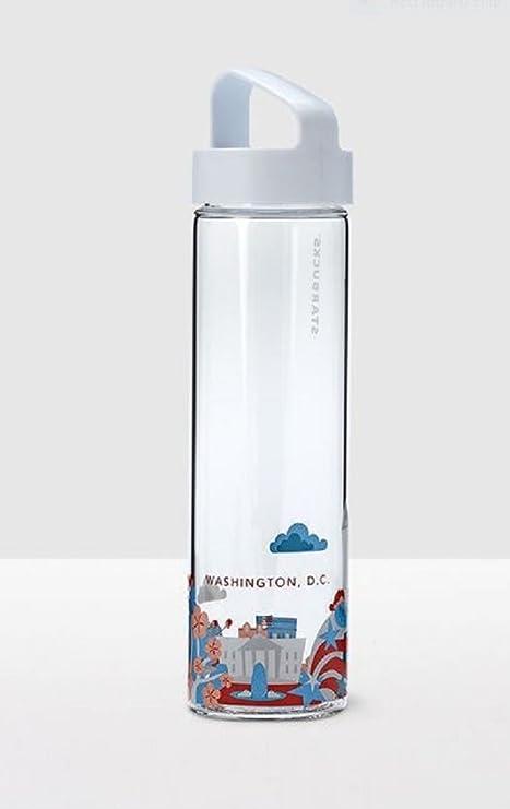 e2b16c8e27 Amazon.com : Starbucks Washington D. C. You Are Here Water Bottle ...