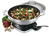 Cuisinart WOK-730 7-2/7-Quart Electric Wok, Stainless Steel review