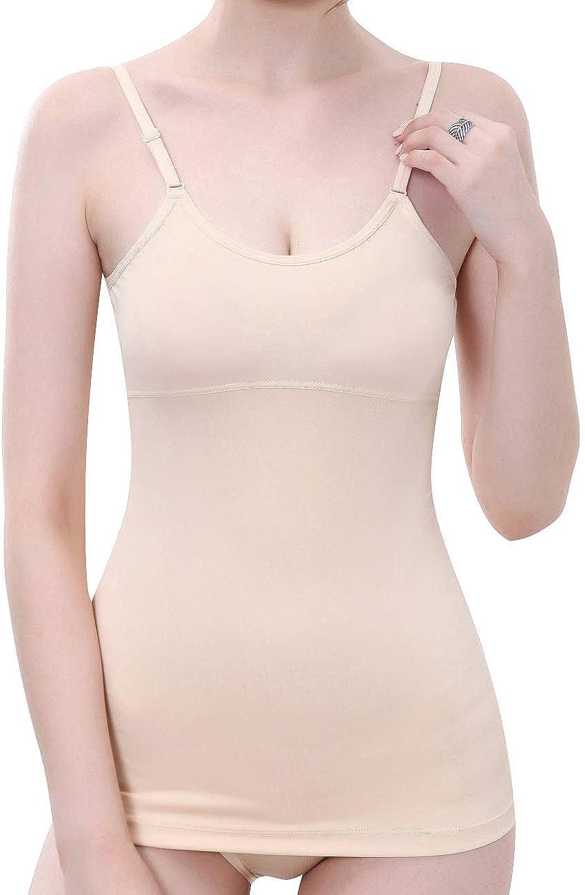 Everbellus Fajas Reductoras Adelgazantes Camisetas Moldeadora Body Reductor Compresi/ón Ropa Interior para Mujer