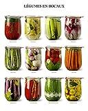 Vegetables in Jars Art Print 16 x 20in