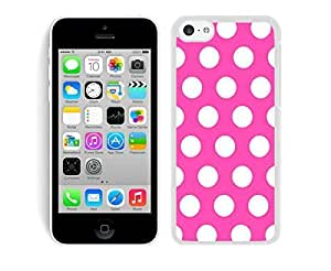 fashion case 5s case covers,iphone 5s case cover,phone case covers 5s-Polka Dot speck Rose CLQsWCTZZ8j red and White iphone 5s case covers White Cover